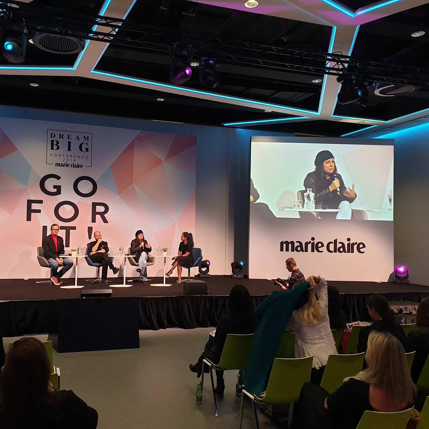 Panel s umělci o dovednostech a kreativitě